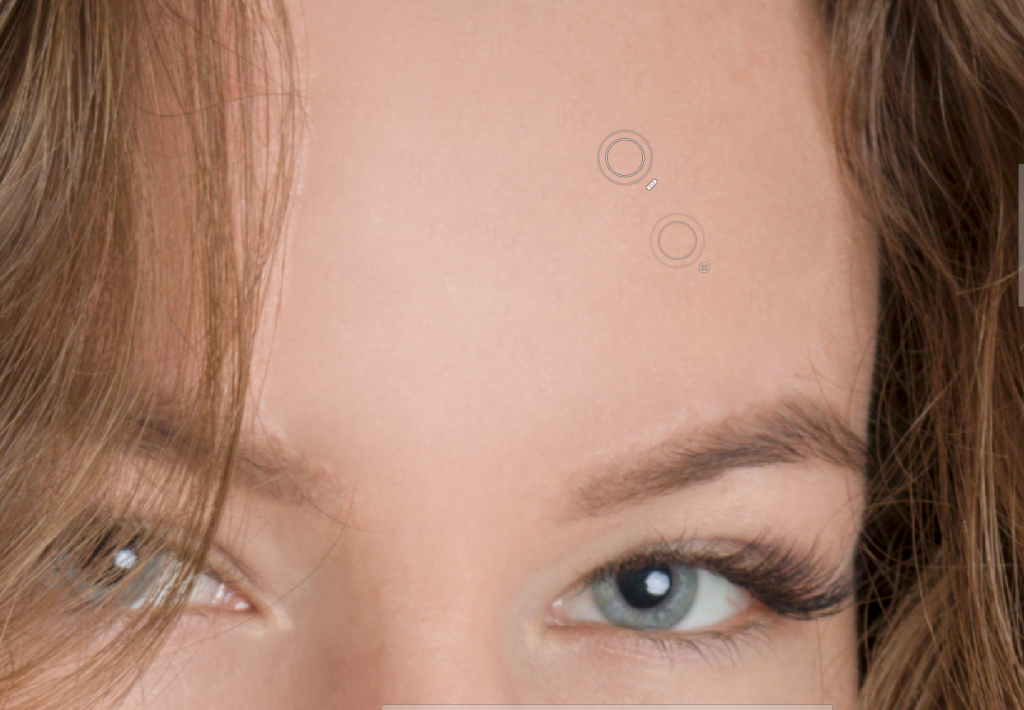 Lernen Sie Porträts zu retuschieren - editor retusche pinsel