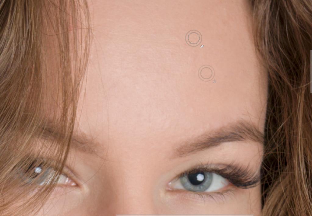 Lernen Sie Porträts zu retuschieren - editor retusche pinsel 50