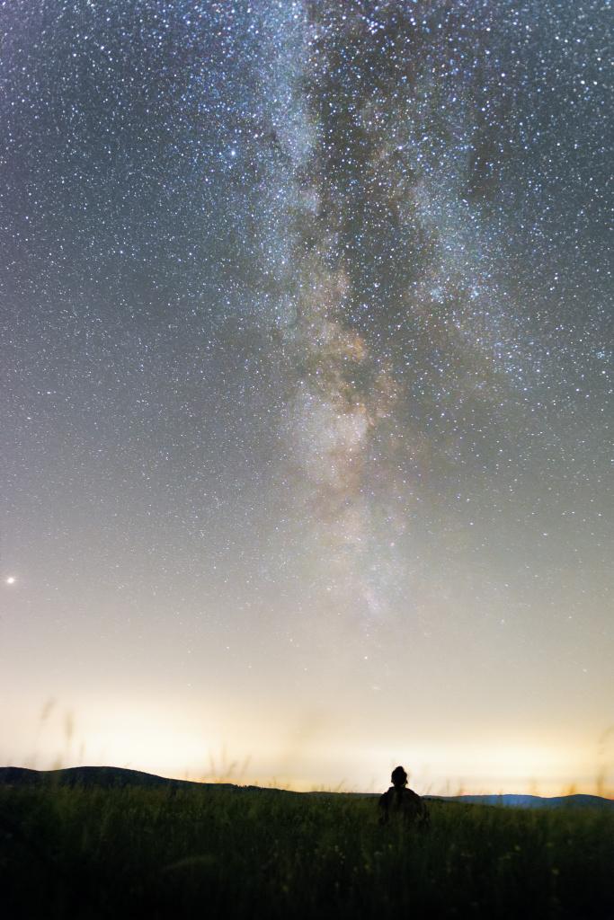 Landschaften bei Nacht fotografieren - milchstrasse