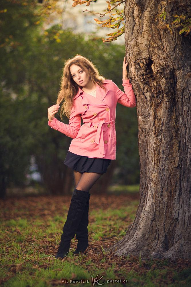 Models fotografieren II - park