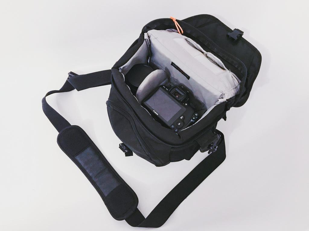 Fotokamera für Anfänger - Tasche