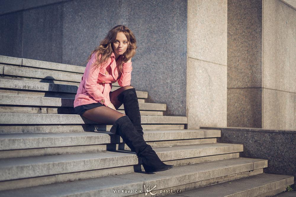 Models fotografieren II - treppen