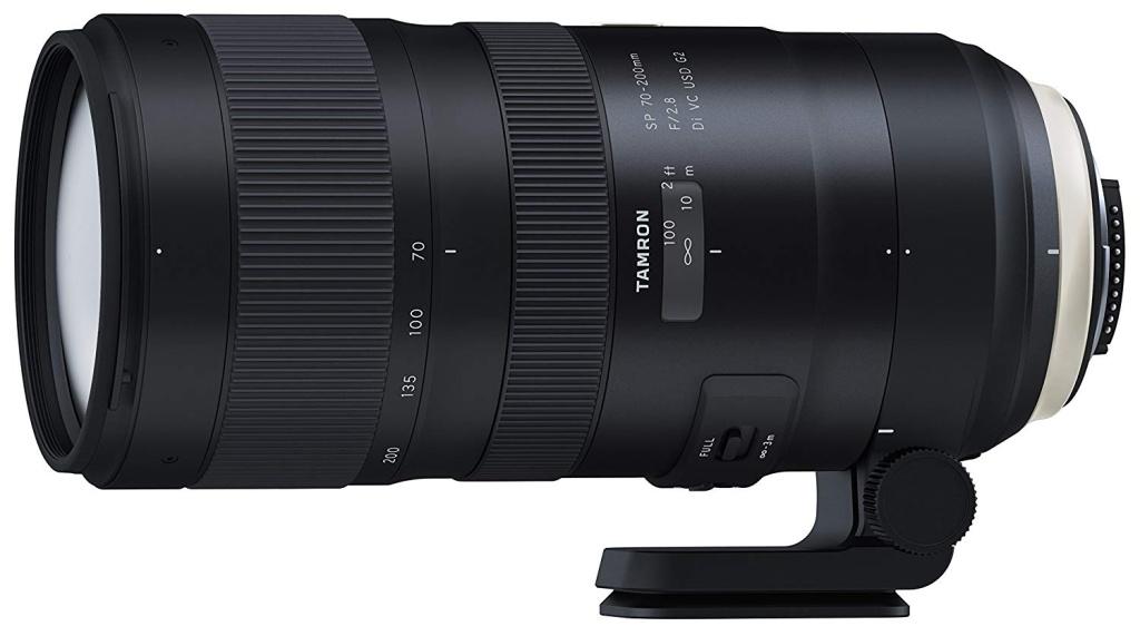 Fotokamera und Objektiv für Landschaftsfotografie - Tamron 70-200