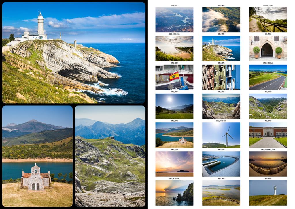 Wie erstellt man Fotocollagen - collage und index