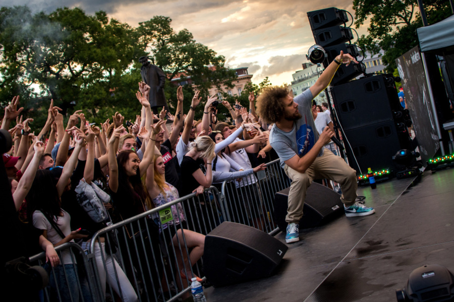 Wie man Konzerte fotografiert - MC Gey