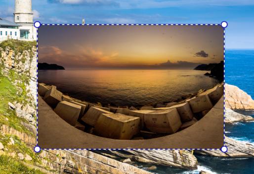 Wie erstellt man Fotocollagen - ebene markierungen transformation