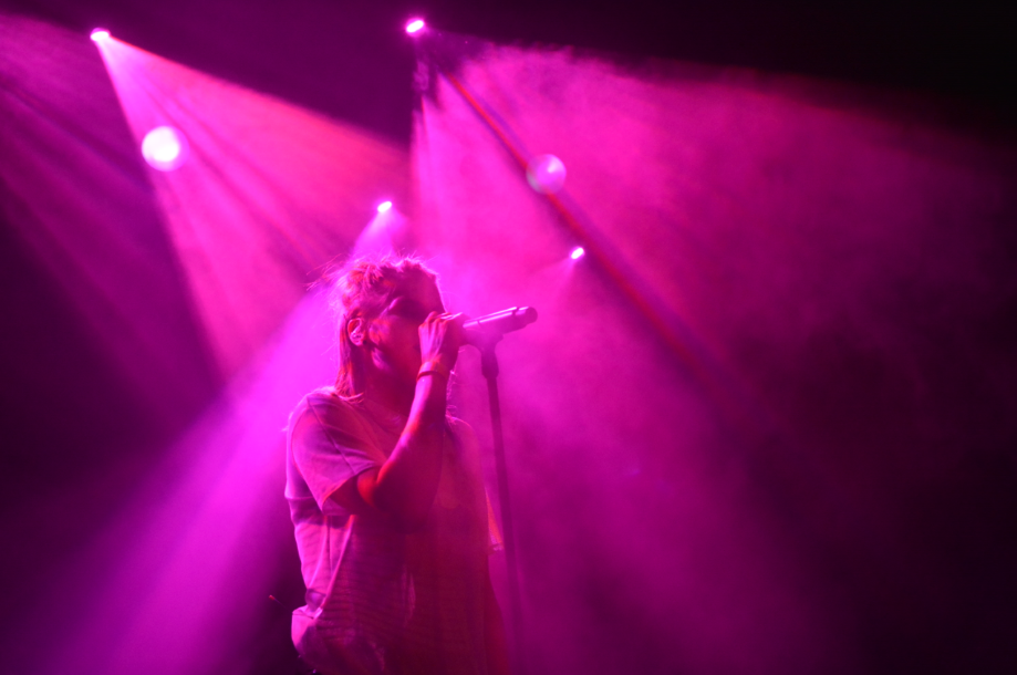 Wie man Konzerte fotografiert - starkes licht Skyline