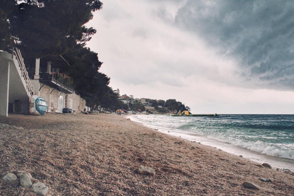 Wie fotografiert man im Urlaub - strand