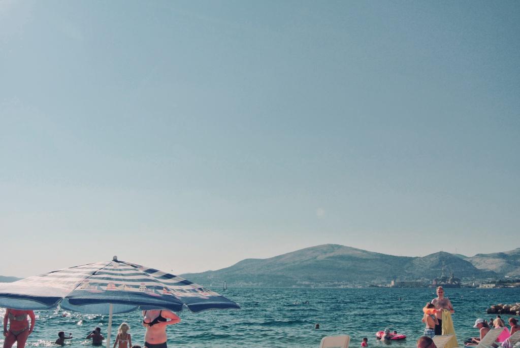 Wie fotografiert man im Urlaub - frau