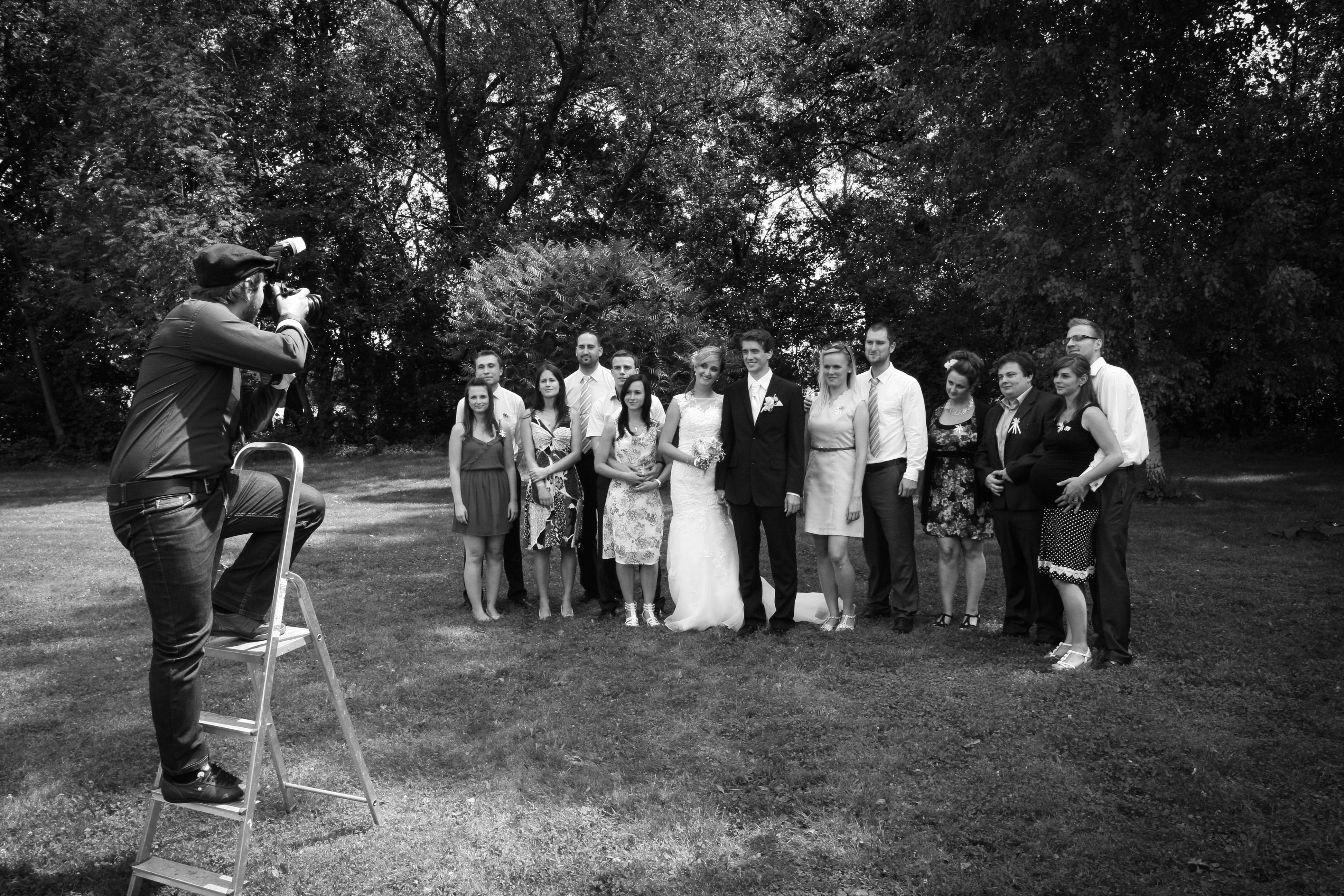 Was sollte man für ein Hochzeitsfotoshooting mitnehmen - leiter