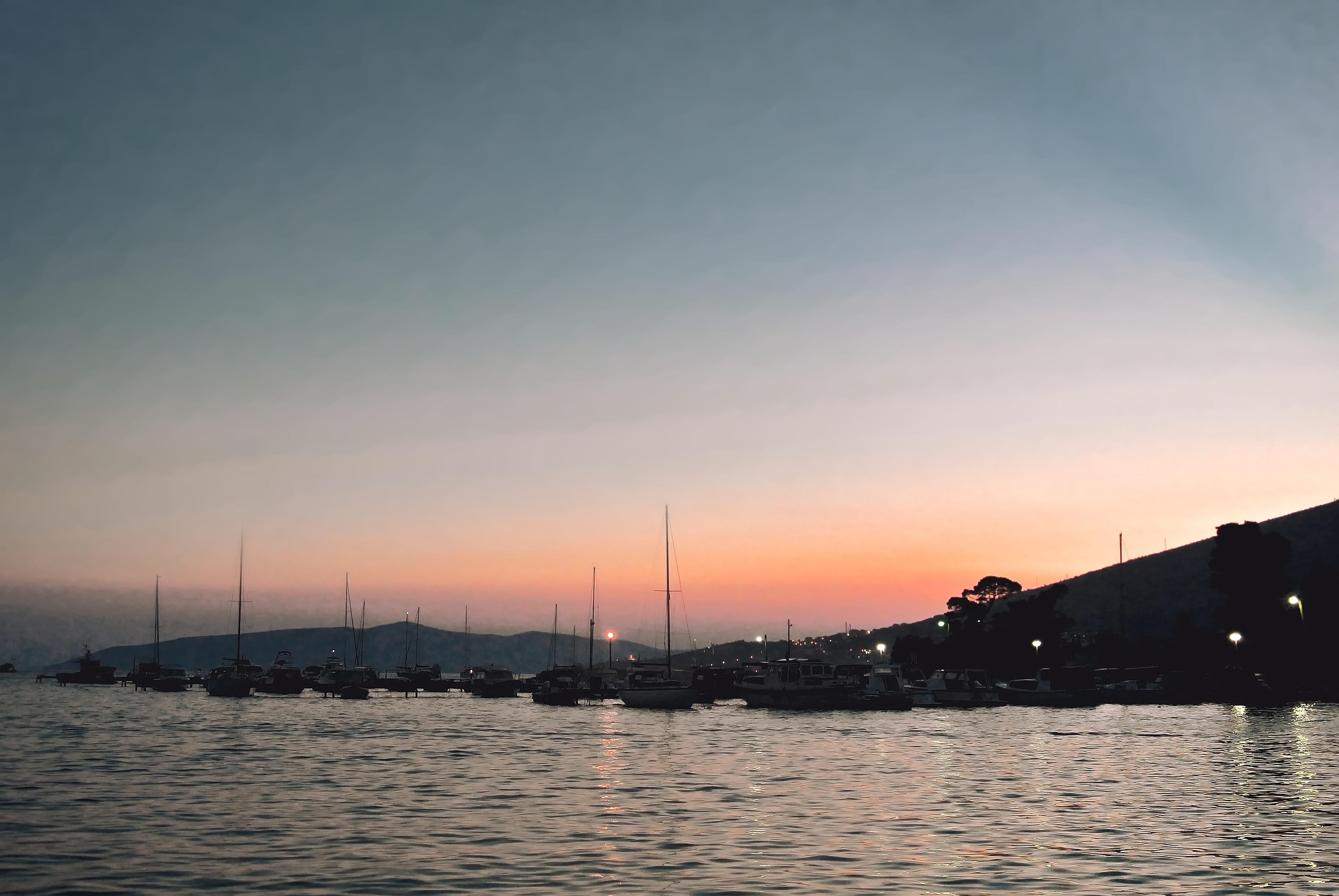 Wie fotografiert man im Urlaub - nach sonnenuntergang
