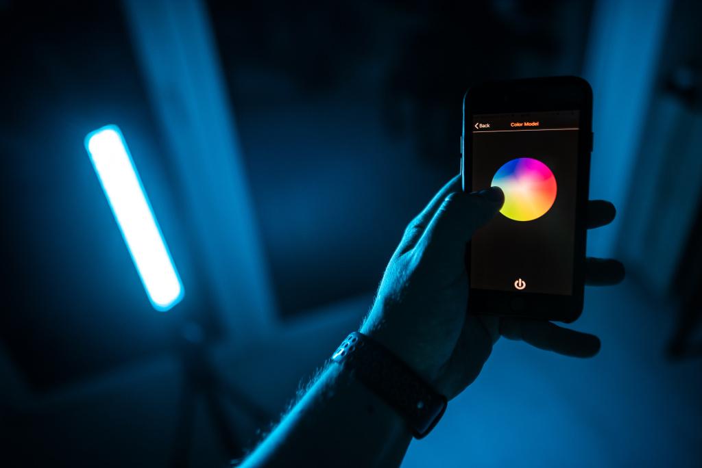 LED-Lichtstab: Kreativer Partner für Arbeit und Spaß - Applikation