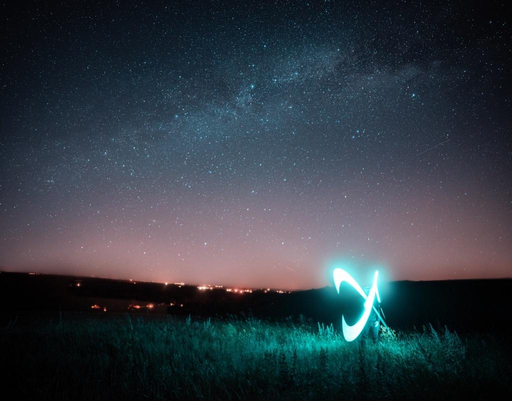 LED-Lichtstab: Kreativer Partner für Arbeit und Spaß - lightpainting