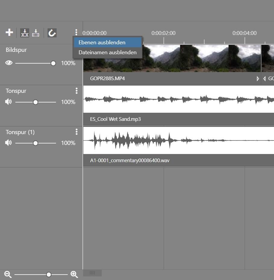Wie erstellt man ein Video in ZPS X - Teil 2 - show curves