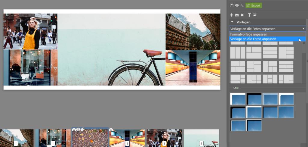 Erstellen Sie Ihre eigene Collage im ZPS X - anpassen