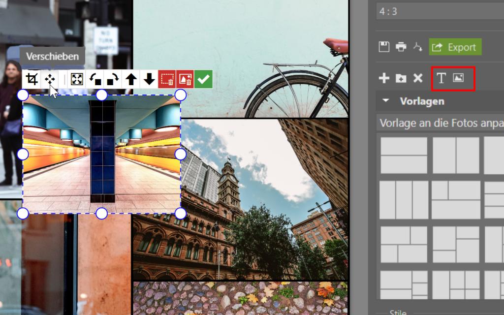 Erstellen Sie Ihre eigene Collage im ZPS X - foto