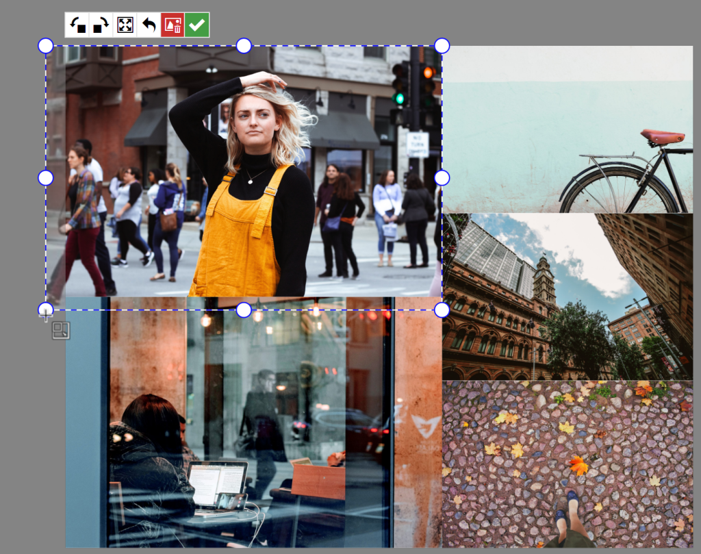 Erstellen Sie Ihre eigene Collage im ZPS X - freistellen