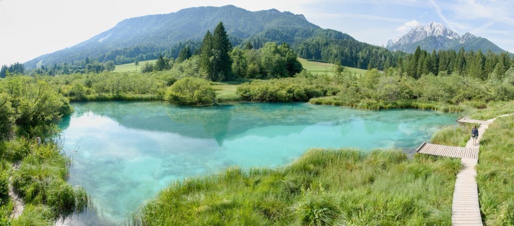 Landschaftsfotografie in Slowenien - Zelenci