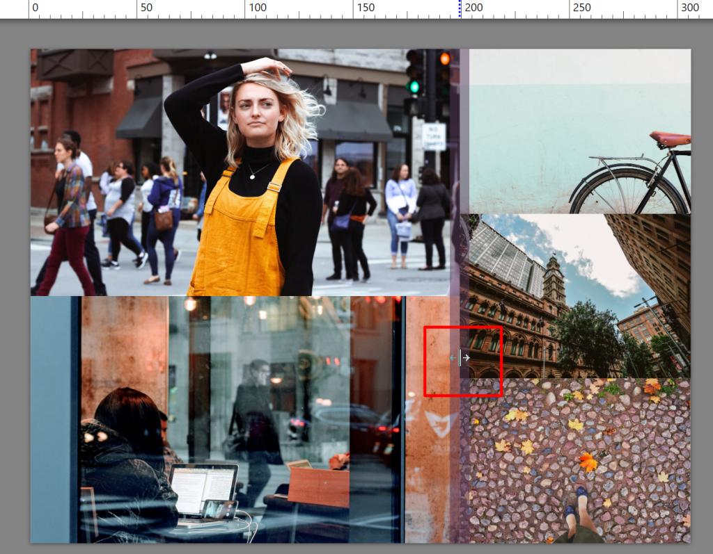 Erstellen Sie Ihre eigene Collage im ZPS X - rand