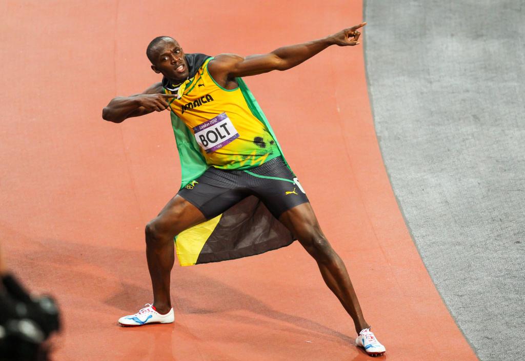Leichtathletik-Fotograf Aleš Gräf - Usain Bolt