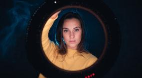 Portrait mit LED-Ringlicht? Tolle Beleuchtung, Kompaktheit und sehr viel Spaß
