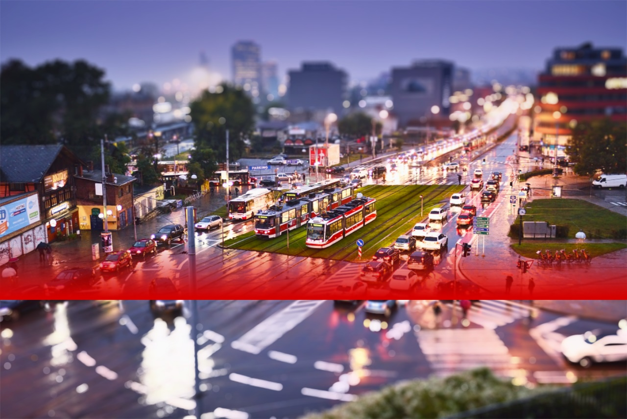 Erstellen Sie Miniaturbilder mit dem Tilt-Shift-Effekt
