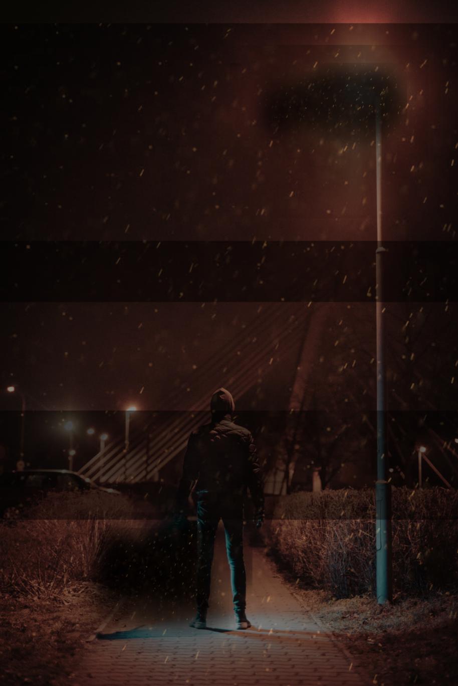 So fügen Sie Ihrem Foto Schnee hinzu: Arbeiten Sie mit Ebenen