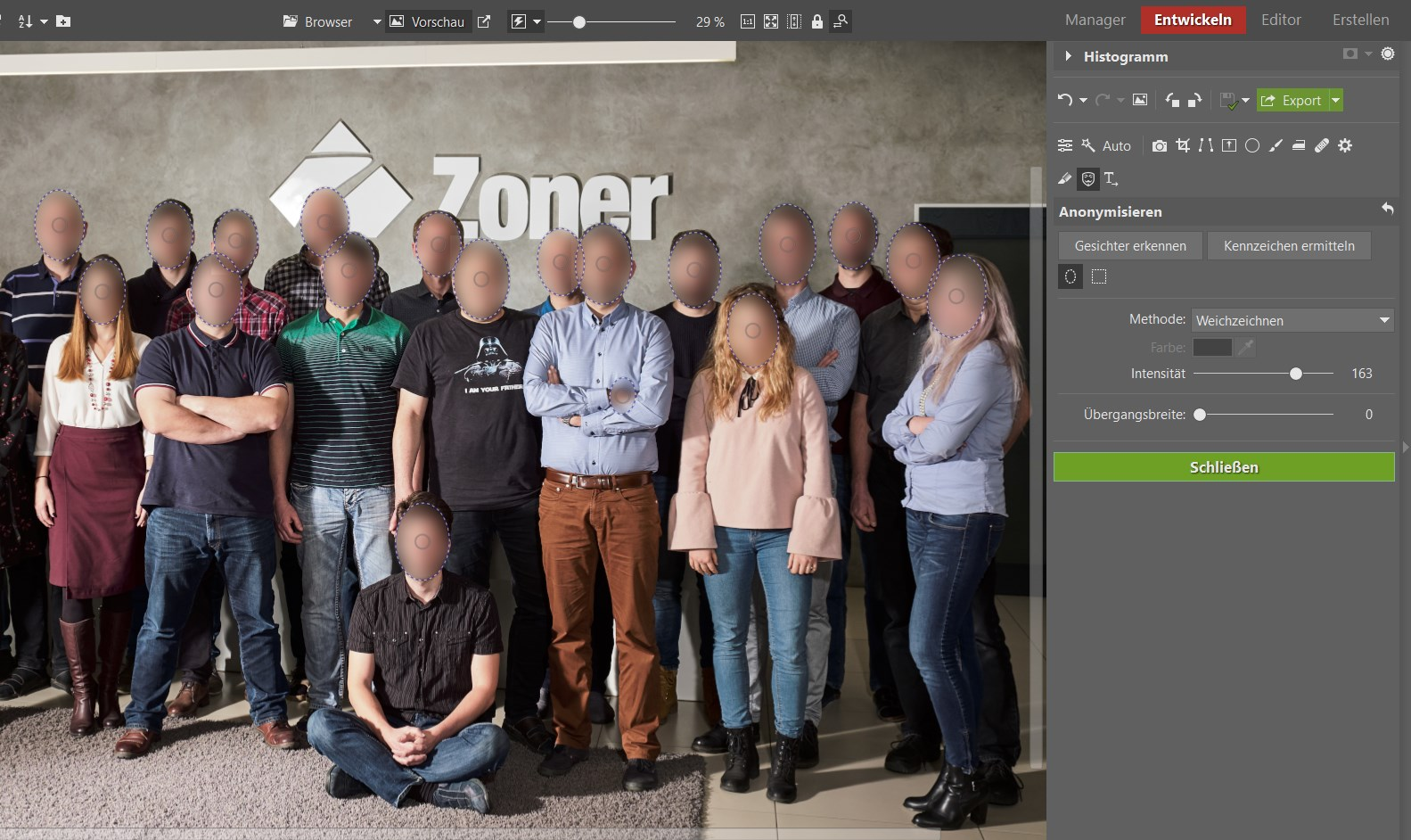 So machen Sie Gesichter und Nummernschilder auf Ihren Fotos unkenntlich: Anonymisierung hilft Ihnen dabei