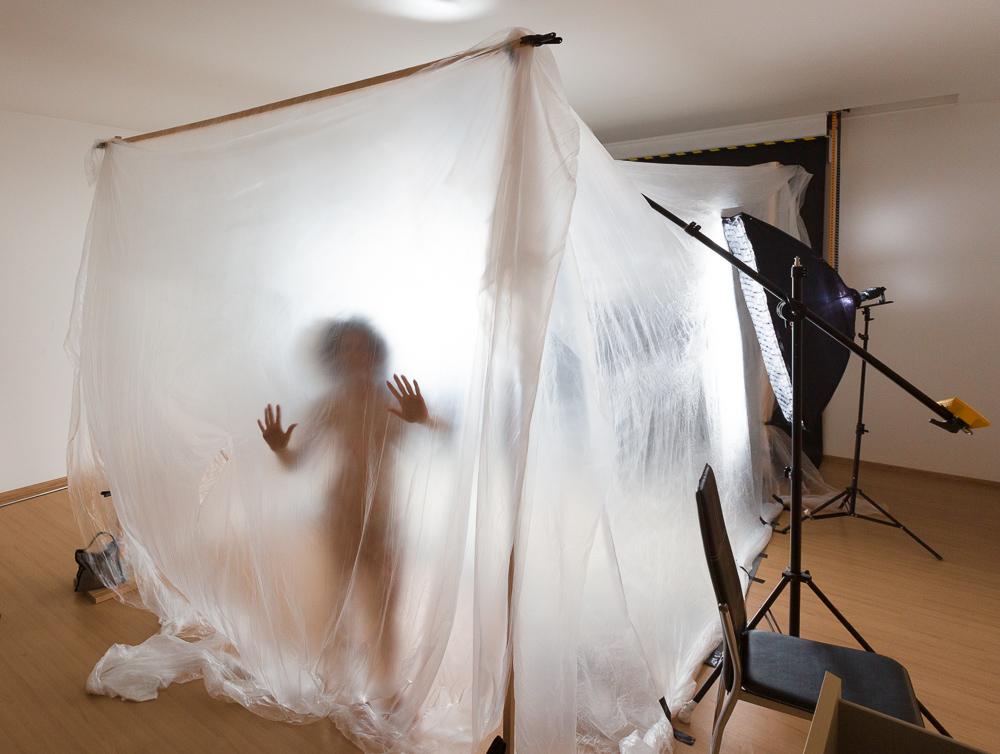 Aktfotografie mit Pulver