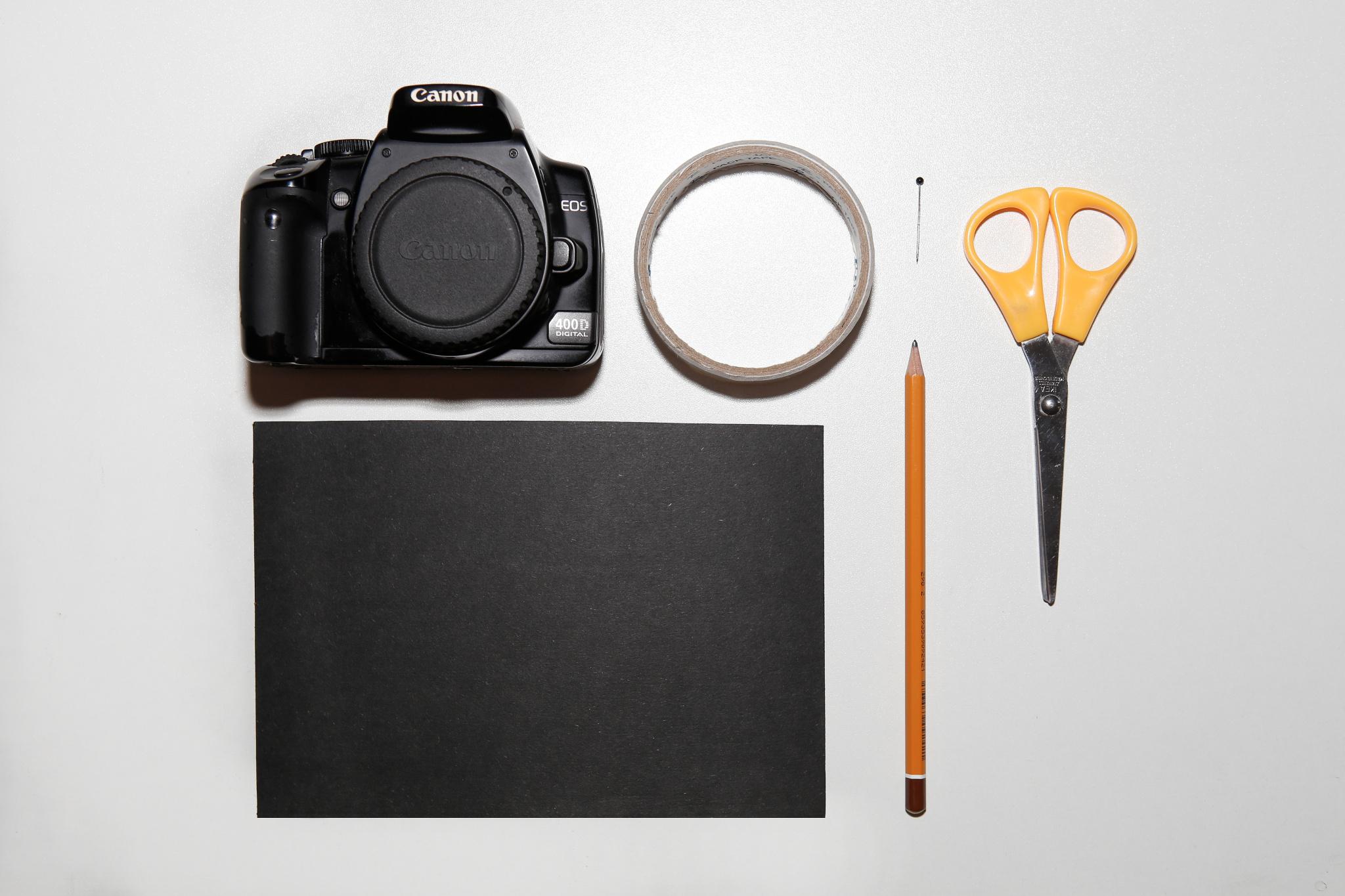 Pinhole oder Lochkamera: Wie man sie herstellt und ein wildes Farbporträt aufnimmt