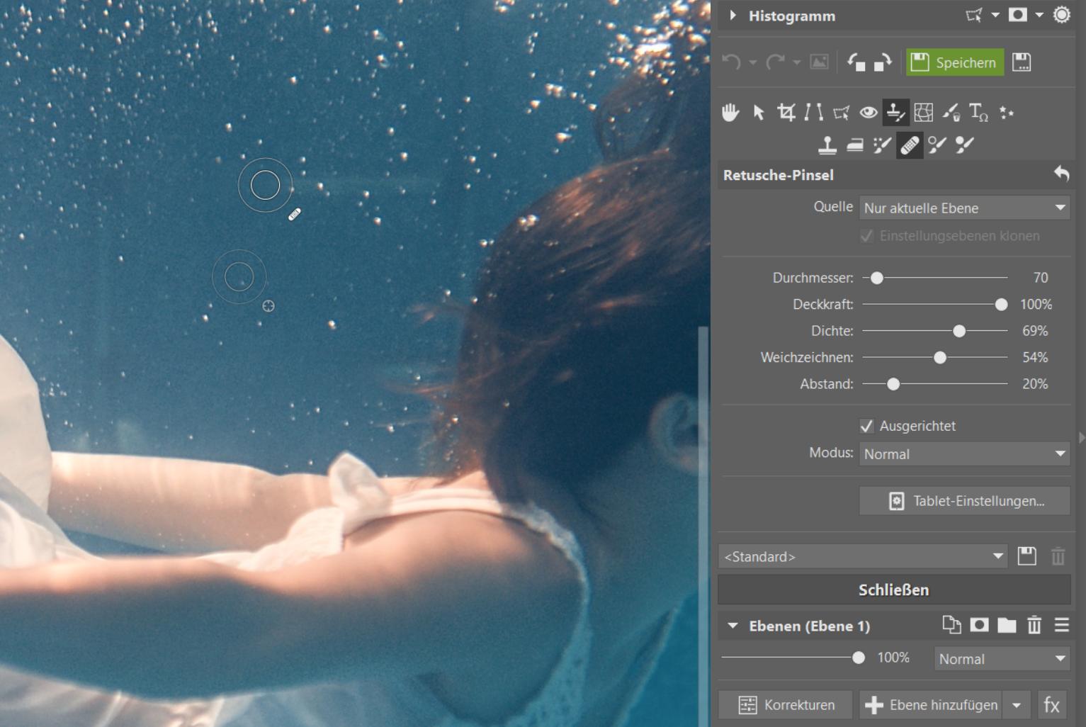 Unterwasserfotografie: Wie man Unterwasserfotos bearbeitet, damit sie lebendig wirken