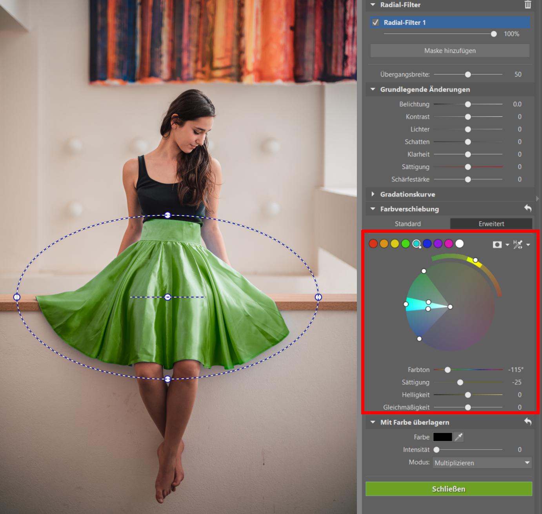 Bearbeiten Sie Farben auch lokal! Einführung lokaler Farbkorrekturen und Kurvenanpassungen