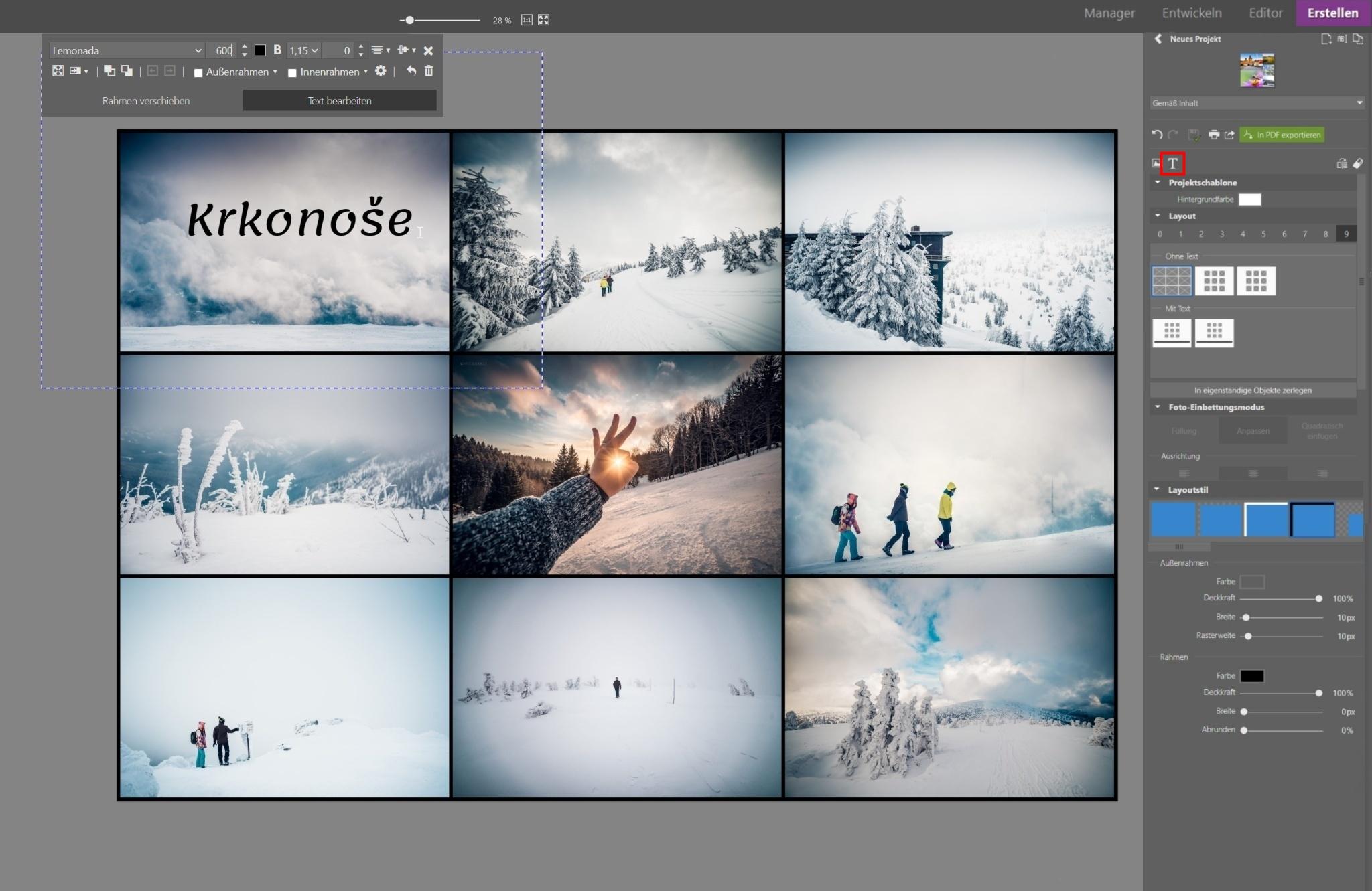 Mehrere Fotos Auf Eine Seite Drucken