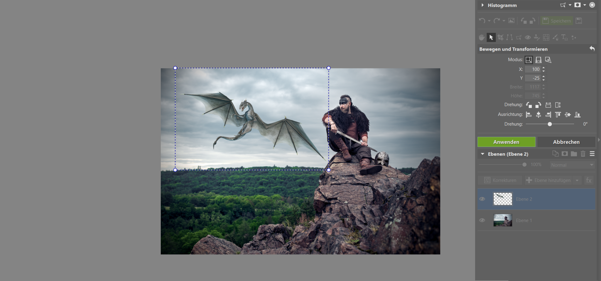 5 Bearbeitungen, ohne die keine Fotomontage möglich ist. Lernen Sie, Objekte korrekt in Fotos einzusetzen