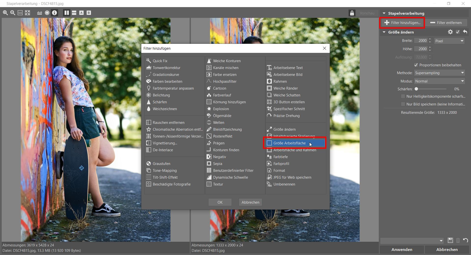 So bearbeiten Sie Fotos für Instagram: Fügen Sie Rahmen hinzu und vermeiden quadratisches Format