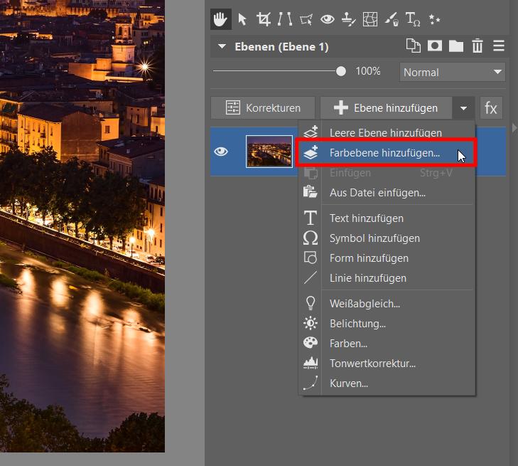 Wie fügt man transparenten Text in ein Foto ein? Editor und Ebenen helfen Ihnen dabei
