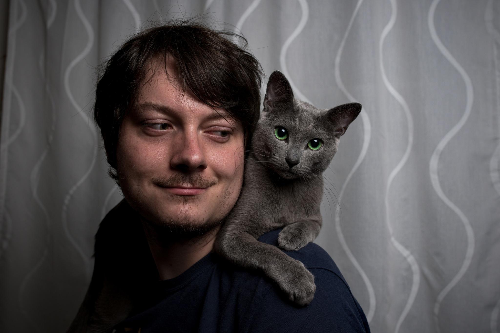 Fotografieren von Porträts mit Tieren