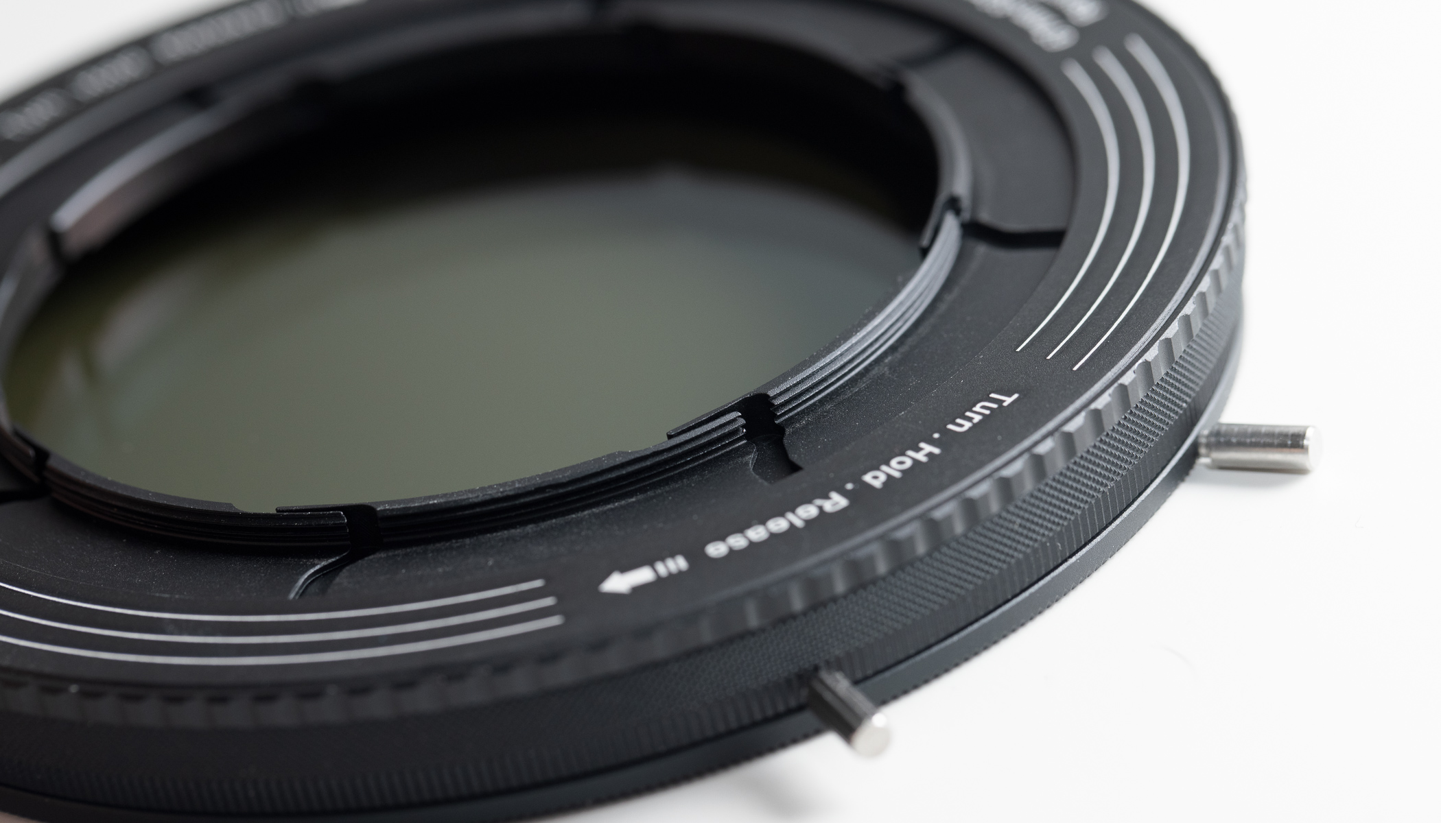 Test: Revoring kombiniert Polarisations- und variablen ND-Filter