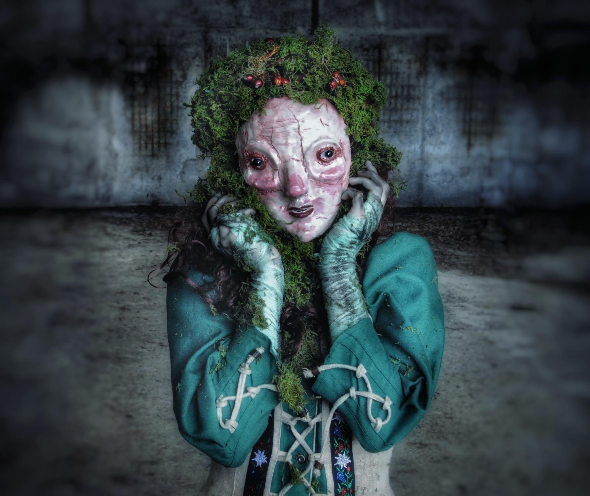 Horrorfotograf Peter Murin: Eine Maske ist inkognito und mysteriös. Ich kreiere einen Look genau so, wie ich ihn haben möchte.