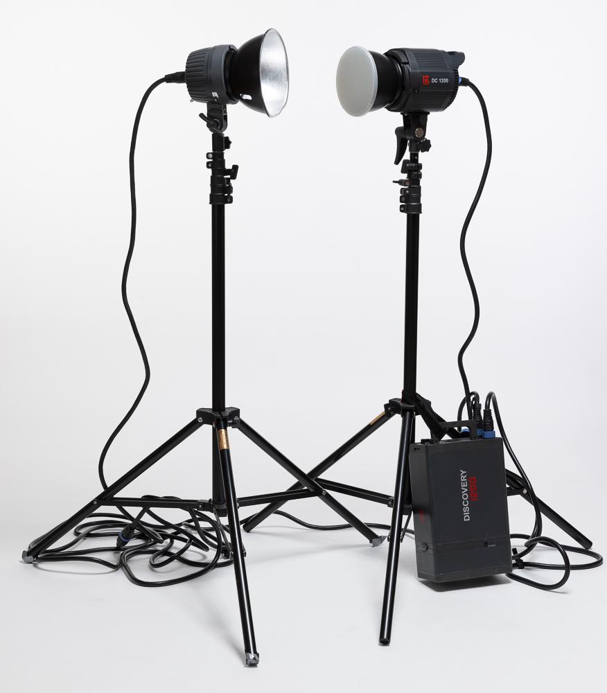 Licht für Studio und Außenbereich