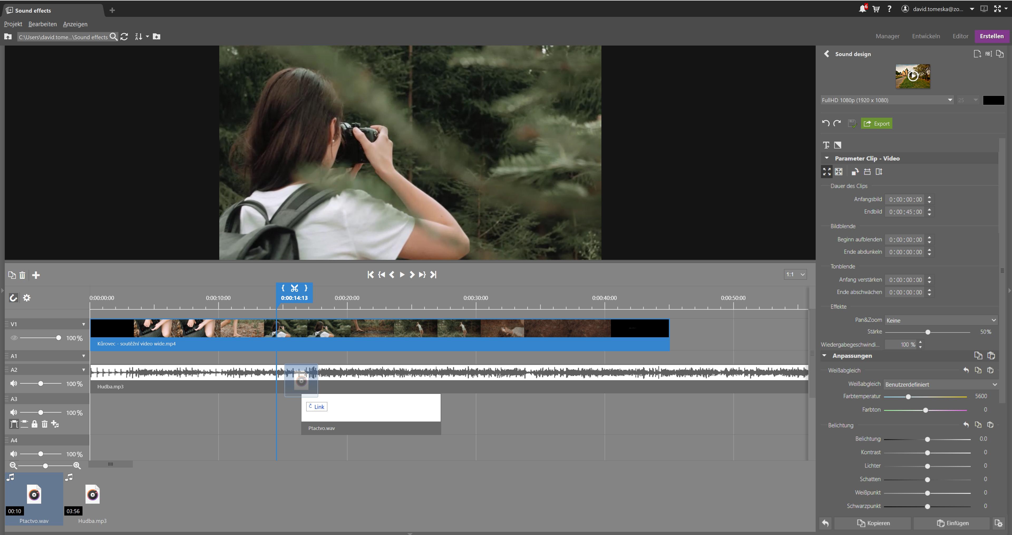 Video- und Sounddesign